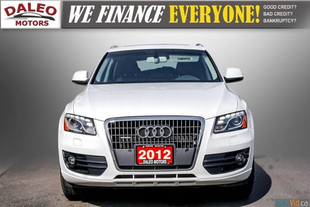 2012 Audi Q5 NAV / LEATHER /HEATED SEATS / PANO ROOF / Photo3
