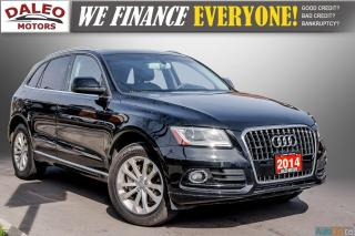 Used 2014 Audi Q5 PROGRESSIV / LEATHER / HEATED SEATS / PDC for sale in Hamilton, ON