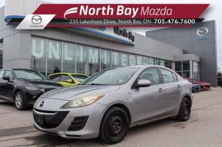 Used 2010 Mazda MAZDA3 GX AS IS - Automatic Transmission - Cloth Interior for sale in North Bay, ON