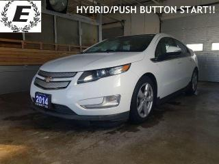 Used 2014 Chevrolet Volt ELECTRIC/HYBRID SAVE $$$ ON GAS!! for sale in Barrie, ON