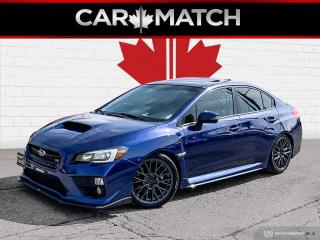 Used 2015 Subaru WRX STI W/SPORT PKG / NAV / ROOF / NO ACCIDENTS for sale in Cambridge, ON