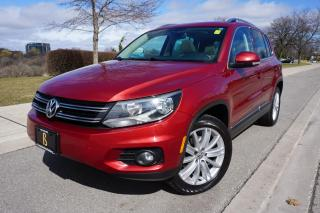 Used 2012 Volkswagen Tiguan NO ACCIDENTS / NAVIGATION + BACKUP CAM / STUNNING for sale in Etobicoke, ON