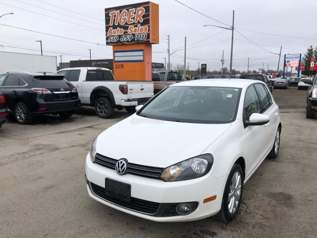 2012 Volkswagen Golf TDI*DIESEL*NO ACCIDENTS*AUTO*ONLY 176KMS*CERTIFIED