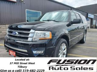 Used 2017 Ford Expedition Max Limited-8PASS-LEATHER-NAVIGATION-MOONROOF for sale in Tilbury, ON