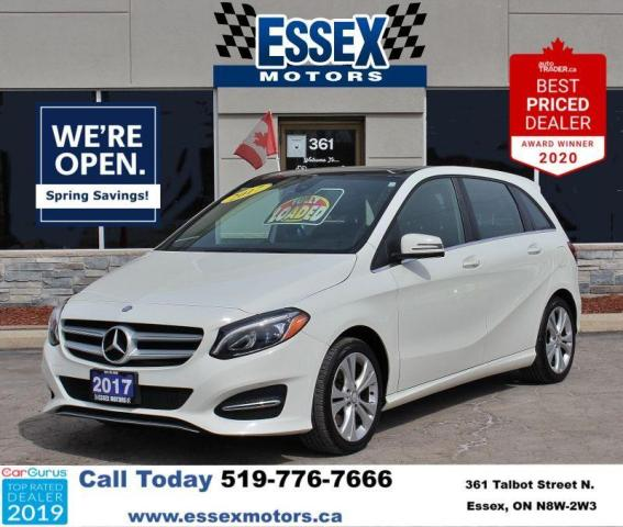 2017 Mercedes-Benz B-Class Low K's B 250 Sports Tourer*AWD*Bluetooth/CarPlay
