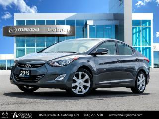 Used 2013 Hyundai Elantra Limited for sale in Cobourg, ON
