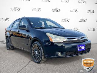 Used 2009 Ford Focus SES AS IS Auto/17 Wheels for sale in St Thomas, ON