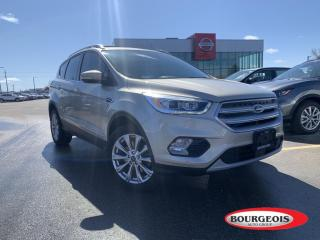 Used 2018 Ford Escape Titanium ALL- WHEEL DRIVE, , HEATED STEERING WHEEL, NAVIGATION for sale in Midland, ON