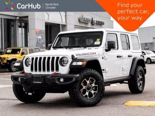 New 2021 Jeep Wrangler Unlimited Rubicon 4x4 2.0L Turbo Heated Seats & Wheel Backup Camera for sale in Thornhill, ON