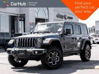 New 2021 Jeep Wrangler Unlimited Rubicon 4xe Sky Roof Heated Leather Seats Safety Grp for sale in Thornhill, ON