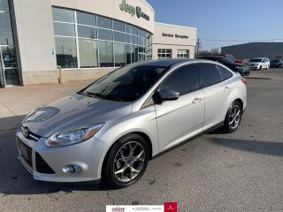 Used 2013 Ford Focus 4DR SDN SE for sale in Chatham, ON
