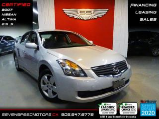 Used 2007 Nissan Altima 2.5S | CERTIFIED | 6SPD | 9055478778 for sale in Oakville, ON