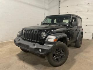 Used 2018 Jeep Wrangler SPORT for sale in Tilbury, ON
