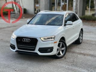 Used 2015 Audi Q3 PROGRESSIV | BRWN LEATHER | LED for sale in Burlington, ON