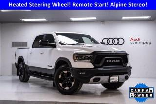 Used 2019 RAM 1500 Rebel w/Sunroof & Navigation *Low KM* for sale in Winnipeg, MB