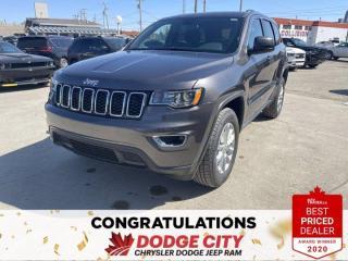 New 2021 Jeep Grand Cherokee Laredo-4WD,Remote Start, Htd.Seat/Wheel, B/U Cam for sale in Saskatoon, SK