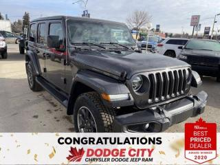 New 2021 Jeep Wrangler Unlimited Sahara 80th Anniversary for sale in Saskatoon, SK