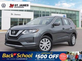 Used 2017 Nissan Rogue S, One Owner, Backup Camera, Heated Seats for sale in Winnipeg, MB