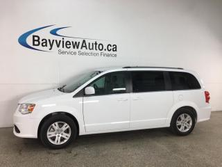 Used 2020 Dodge Grand Caravan Crew - ONLY 8000KMS! HTD LEATHER! 3 ZONE CLIMATE! NAV! DVD! PWR DOORS & LIFTGATE! for sale in Belleville, ON