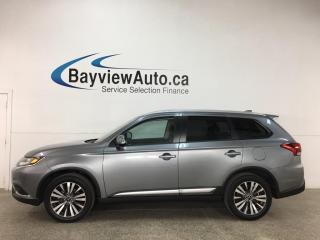 Used 2020 Mitsubishi Outlander EX - AWD! 7PASS! 0KMS! 1/2 LEATHER! SUNROOF! for sale in Belleville, ON
