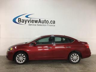 Used 2019 Nissan Sentra 1.8 SV - AUTO! SUNROOF! REVERSE CAM! ALLOYS! for sale in Belleville, ON