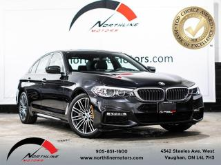 Used 2017 BMW 5 Series 530i xDrive/M-Sport/Navigation/Heads Up Display for sale in Vaughan, ON