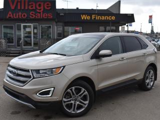 Used 2018 Ford Edge Titanium FULLY LOADED! TOP TRIM! AWD! for sale in Saskatoon, SK
