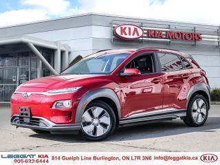 Used 2019 Hyundai KONA EV ULTIMATE EV/LEATHER/SUNROOF/NAV/UPTO 415 KMS RANGE/LOADED for sale in Burlington, ON
