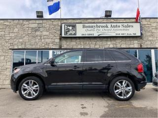 Used 2011 Ford Edge Limited AWD P/sunroof/leather/navigation/ for sale in Calgary, AB