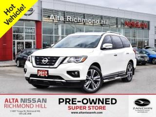Used 2017 Nissan Pathfinder Plat   360CAM   Navi   BSW   Pano   PWR Liftgate for sale in Richmond Hill, ON