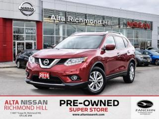 Used 2016 Nissan Rogue SV   Rear CAM   Push Start   Alloy   HTD F.Seats for sale in Richmond Hill, ON