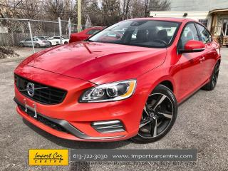 Used 2018 Volvo S60 T6 Dynamic RARE T6 R-DESIGN  LEATHER  ROOF  NAVI for sale in Ottawa, ON