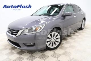 Used 2014 Honda Accord Sedan EX-L *CUIR *4-CYL *CAMERA *BLUETOOTH *AUTO for sale in Saint-Hubert, QC