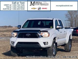 Used 2013 Toyota Tacoma 4.0L V6,CREW CAB,4X4,HEATED LEATHER SEATS,TONNEA for sale in Kipling, SK