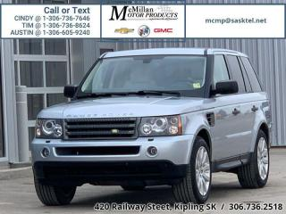 Used 2008 Land Rover Range Rover Sport HSE  4.4L V8,AWD,HEATED LEATHER SEATS,SUNROOF for sale in Kipling, SK