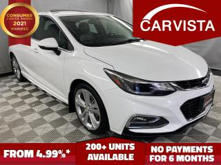 Used 2018 Chevrolet Cruze LT DIESEL - LEATHER/SUNROOF- for sale in Winnipeg, MB