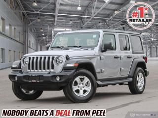 Used 2019 Jeep Wrangler UNLIMITED SPORT 4x4 for sale in Mississauga, ON