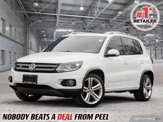 Used 2013 Volkswagen Tiguan 2.0 TSI Highline (A6) for sale in Mississauga, ON