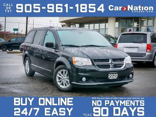 Used 2020 Dodge Grand Caravan Premium Plus| DVD| NAVI| LEATHER-TRIMMED SEATS| for sale in Burlington, ON