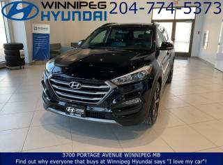 Used 2016 Hyundai Tucson Limited for sale in Winnipeg, MB