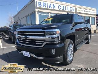 Used 2018 Chevrolet Silverado 1500 HIGH COUNTRY  - Certified for sale in St Catharines, ON