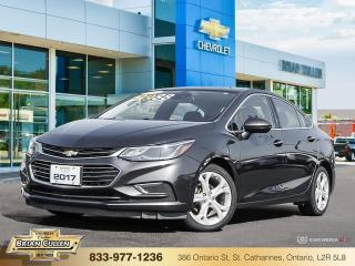 Used 2017 Chevrolet Cruze Premier  - Certified for sale in St Catharines, ON
