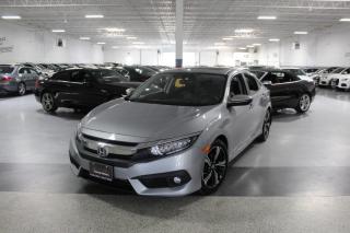 Used 2017 Honda Civic TOURING I NAVIGATION I LEATHER I SUNROOF I REAR CAM I CRUISE for sale in Mississauga, ON