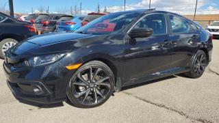 Used 2019 Honda Civic Sedan SPORT, Power Windows, Sun Roof, Leather for sale in Calgary, AB