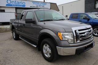 Used 2010 Ford F-150 XLT 4WD SUPERCAB for sale in Mississauga, ON