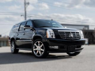 Used 2010 Cadillac Escalade ESV AWD| DVD |ROOF | GREAT CONDITION | CLEAN CARFAX for sale in North York, ON