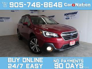 Used 2018 Subaru Outback LIMITED | EYESIGHT PKG | LEATHER |PANO ROOF | NAV for sale in Brantford, ON
