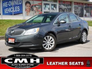 Used 2017 Buick Verano Base  BLUETOOTH LEATH/CLOTH WOOD-TRIM 17-AL for sale in St. Catharines, ON