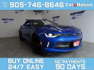 Used 2017 Chevrolet Camaro RS PKG | CONVERTIBLE | LEATHER |FIFTY ANNIVERSARY for sale in Brantford, ON