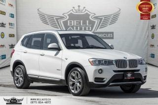 Used 2017 BMW X3 xDrive28i, AWD, NAVI, REAR CAM, PANOROOF, PARK ASST for sale in Toronto, ON